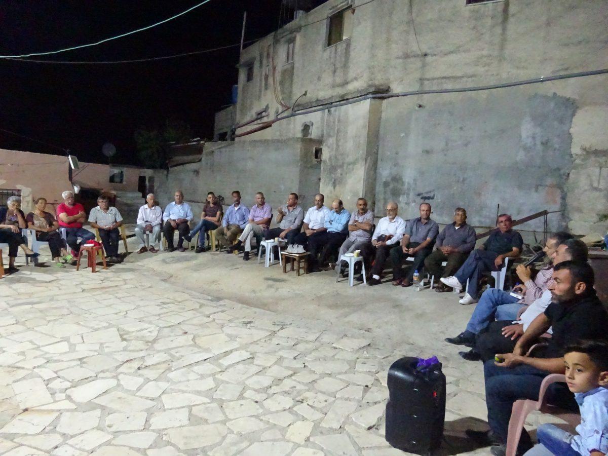 Salfit, 25 octobre, cueillette des olives en Palestine occupée
