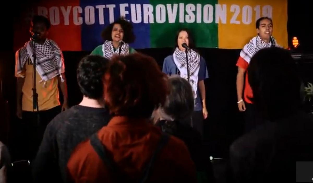 Boycott Apartheid : une contribution musicale de UK Boycott Eurovision campaign