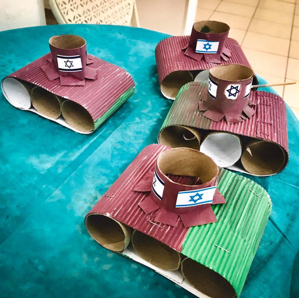 Au jardin d'enfants à Tel Aviv : un témoignage consternant de notre amie Éléonore Bronstein