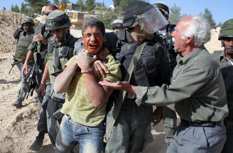 Infographie : les mineurs palestiniens enfermés au mépris du droit