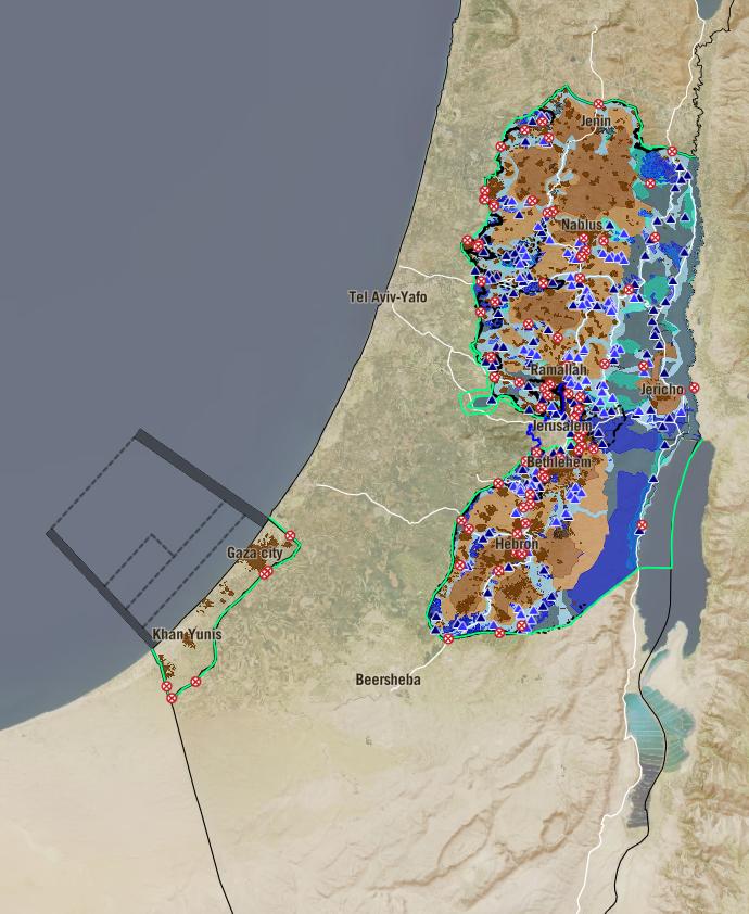 Conquérir et diviser : une présentation interactive réalisée par B'Tselem