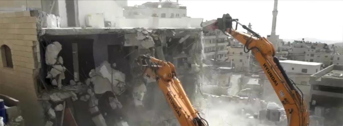 Statistiques sur la démolition de maisons construites sans permis à Jérusalem-Est